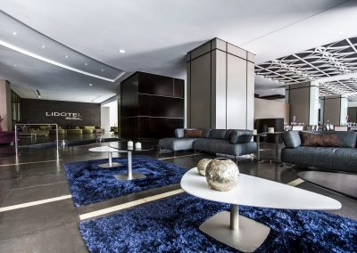 Lobby de lujo Lidotel